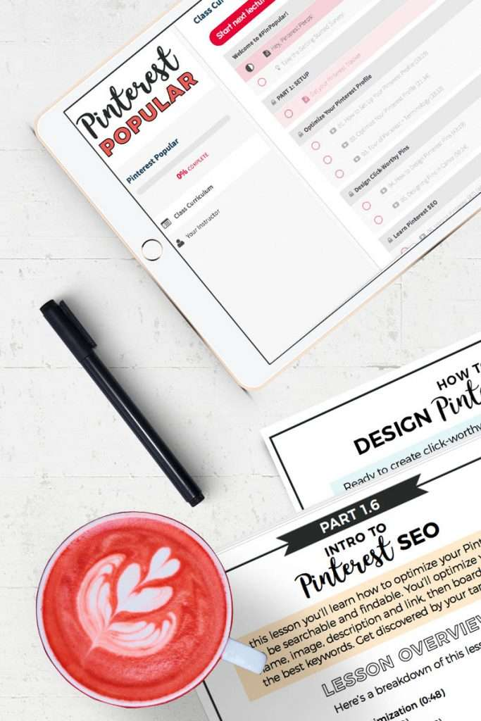 Shop Nadalie Bardo's Pinterest Courses